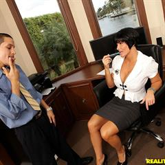 Shay Fox MILF and young realitykings bigtitsboss short hair black hardcore big tits mature office