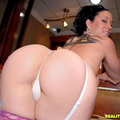 Gianna Lace purple stockings realitykings raven haired wedding ring milfhunter hardcore nylons wife