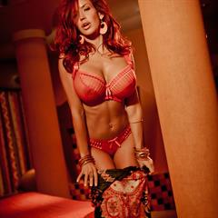 Bianca Beauchamp pinkfineart trimmed redhead shaved