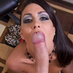 Jessica Jaymes jessicajaymesblog firstclasspov shaved cock eye contact brunette big tits implants facial makeup