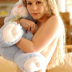 Fiona Luv cuddly toy lilbabes freeones blonde babe