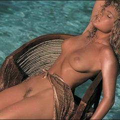 Erika Eleniak millioncelebs celebrity mixed set Baywatch playboy topless vintage celeb naked