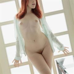 Amarna Miller preview lowres samples nudecollect small tits open pussy blue eyes redhead trimmed