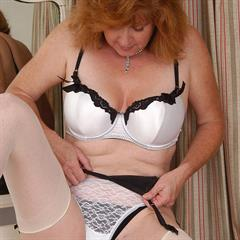 allover30 stockings redhead mature nylons ugly solo old garment