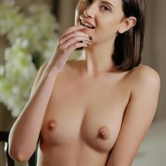 Sabrina G Sade Mare ila black nail polish long nipples erocurves nice tits stockings trimmed shaved