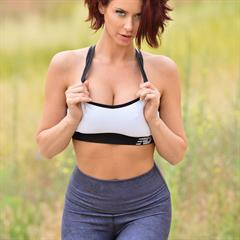Emily Addison pinky sports bra FTVMILFs FTVgirls leggings trimmed redhead shaved foxhq