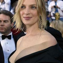 Uma Thurman celebs-and-models celebrity cleavage nonnude celeb legs actress