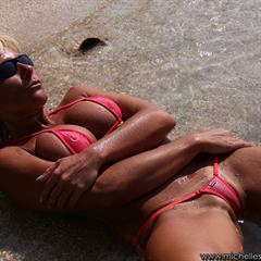 michelles-world wrinkled soles wicked weasel high arched red bikini piercing big tits outddor outdoor pierced