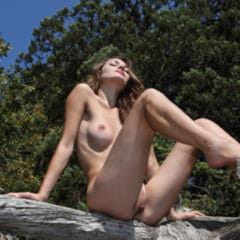 Tory D greateroticart tree climbing brown eyes delicious brunette chewable barefoot trimmed stunner