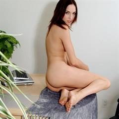 Sophie Strauss open pussy brunette thenude shaved admin