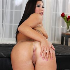 London Keyes nipple piercing pierced nipples tongue navel totally shaved lip cum on face tits