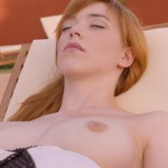 Anny Aurora outie belly button completely shaved totally panties aside pussylicking wet pussy imagefap hardcore redhead