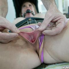 brotherlove humiliated hardcore ballgag fetish blonde bed