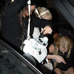 Britney Spears Paris Hilton upskirt candid paparazzi celebrity pantyless necklace British hottyx