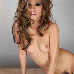 Jenna Haze freepornofreeporn brunette makeup gloves boots table solo bush garment