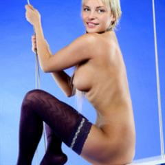 Layla Meston Alina Blonde Lapochka A UHQ VHQ subirporno presenting thighhighs stockings exquisite imagefap