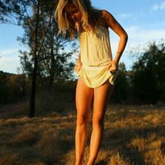 Johanna abbywinters Abby Winters cotton-panties thumbpreview sunset blonde shaved smile dress