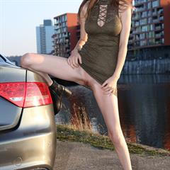 Mila Azul Milla D Y UHQ VHQ subirporno Testing Audi RS RSfive totally shaved freehqporn bottomless