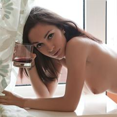 Jackie O Helen H Engelie sexyladiesonly plump pussy showybeauty squating knees up brunette handbra