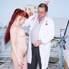 newexclusiveclub stethoscope speculum doctor mature gyno CMNF