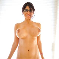 Kalila Kane Camellia glass dildo brunette FTVgirls barefoot glasses newtgp shaved busty