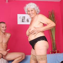Betty norma mature and young black lingerie arghhh my eyes put it away cant unsee grey hair old pussy cum
