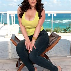 Angela White big naturals no-tattoos huge tits hardcore red lips curves busty BBW