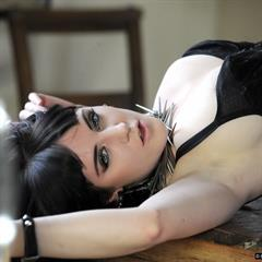 Samantha Bentley Sammie Beagley Sam black negligie breath-takers raven haired green eyes D Taylor May kindgirls