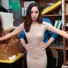 Aurora Winters cum on tits babesource small shoplyfter hardcore brunette shaved